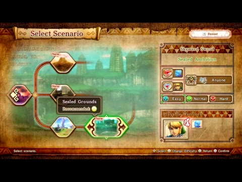 Hyrule Warriors Definitive Edition Legend Mode The Sorceress Of The Valley Youtube