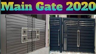 MAIN GATE/TOP MODERN GATE IDEAS IN 2020 CATALOGUE.