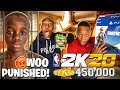 I SURPRISED MY LIL BROTHER WITH PS4 & 450,000 VC & WOO GOT PUNISHED!!