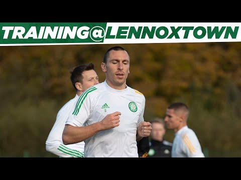 Final Celtic training session before tomorrow's Glasgow derby!