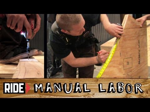 How-To Build a Skatepark - Quarter Pipe Part 1: Transition Templates - Manual Labor