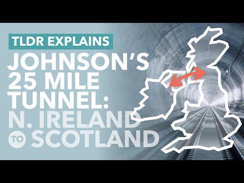 Boris' Burrow: A 25 Mile Tunnel Connecting Scotland and Northern Ireland? - TLDR Explains
