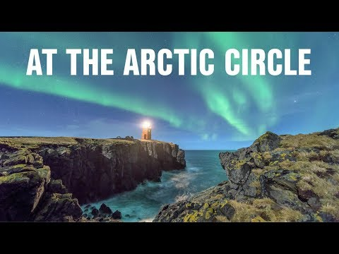 At the Arctic circle in Grimsey | Photography in Iceland