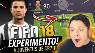 A JUVENTUS vence CHAMPIONS LEAGUE com CRISTIANO RONALDO?! FIFA 18 EXPERIMENTO!! 🏆🔥