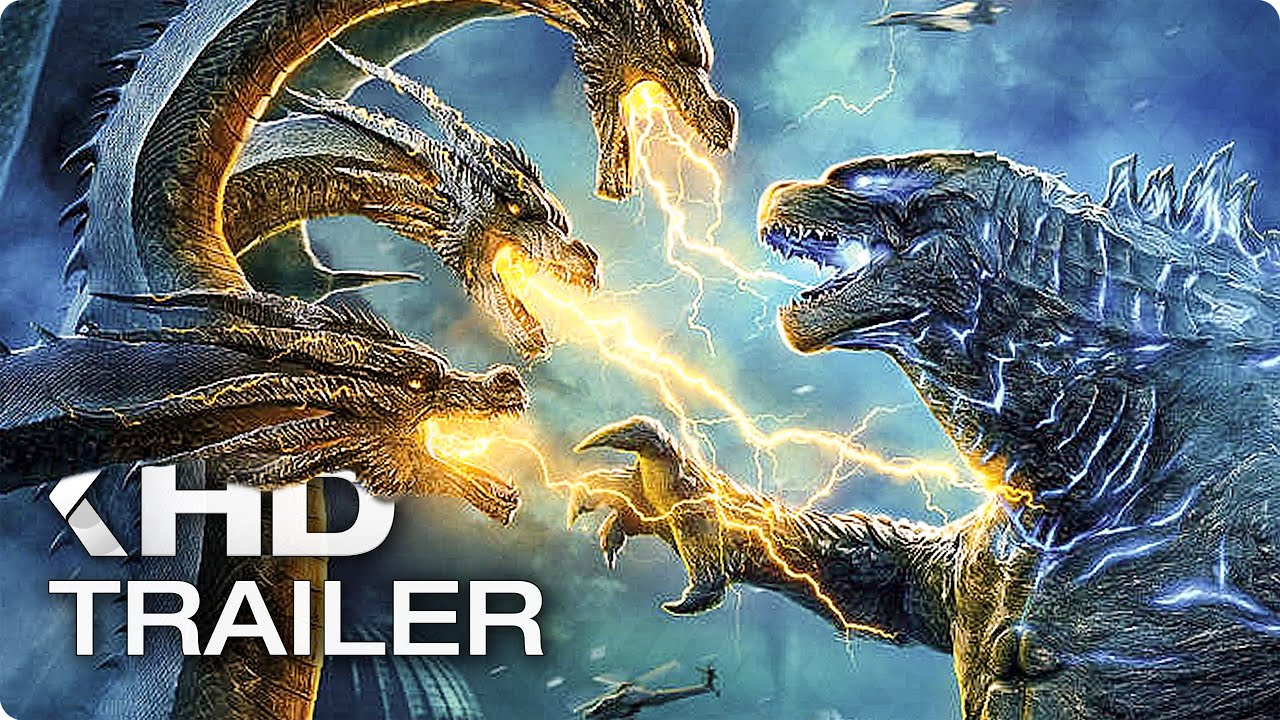 GODZILLA 2: King of the Monsters - 8 Minutes Movie