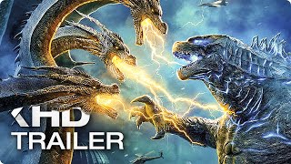 GODZILLA 2: King of the Monsters - 8 Minutes Trailers (2019)