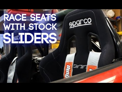 How To Install Race Seats On Stock Sliders