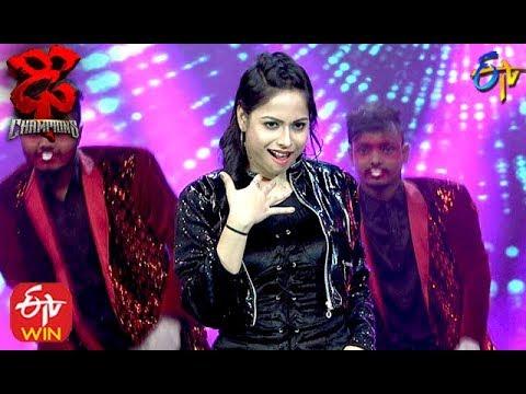 Tejashwini Performance | Dhee Champions |  15th January 2020   | ETV Telugu
