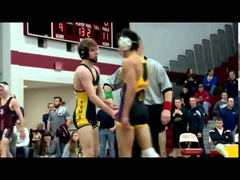2/21/15 - Wrestling - WIAA Division 1 Sectionals