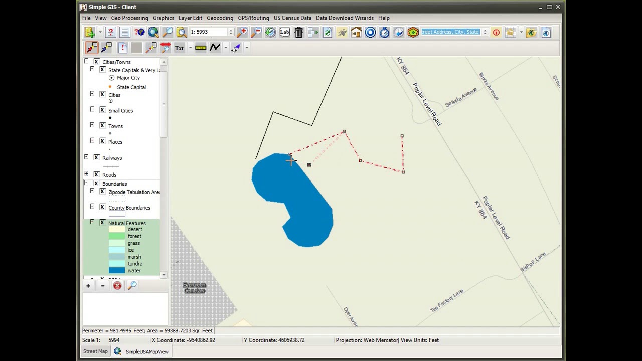 Simple GIS Software - Easy To Use Geocoding Software