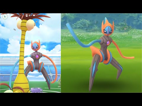 Deoxys SPEED Form EX Raid!! All Deoxys Forms Finally Released In Pokemon Go!!