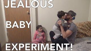 JEALOUS BABY EXPERIMENT!!!