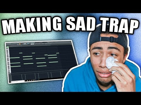 IM CRYIN | Making A SAD Trap Beat From Scratch (FL Studio 12 How To Make Sad Beats)