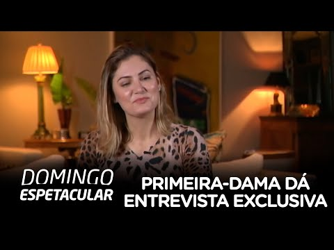 Primeira-dama, Michelle Bolsonaro, dá entrevista exclusiva para a Record TV