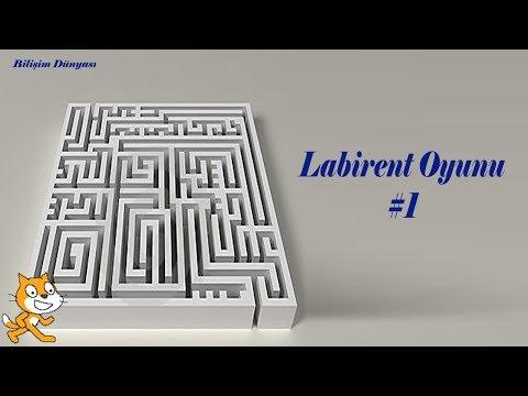 Scratch Programı Ile Labirent Yapımı 1. Bölüm