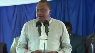 Hotuba ya Rais Uhuru Kenyatta iliyowaacha wengi mdomo wazi