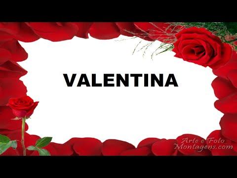 Valentina Significado e Origem do Nome