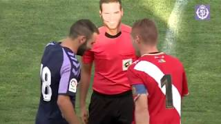 REAL VALLADOLID, 2 - RAYO VALLECANO, 0