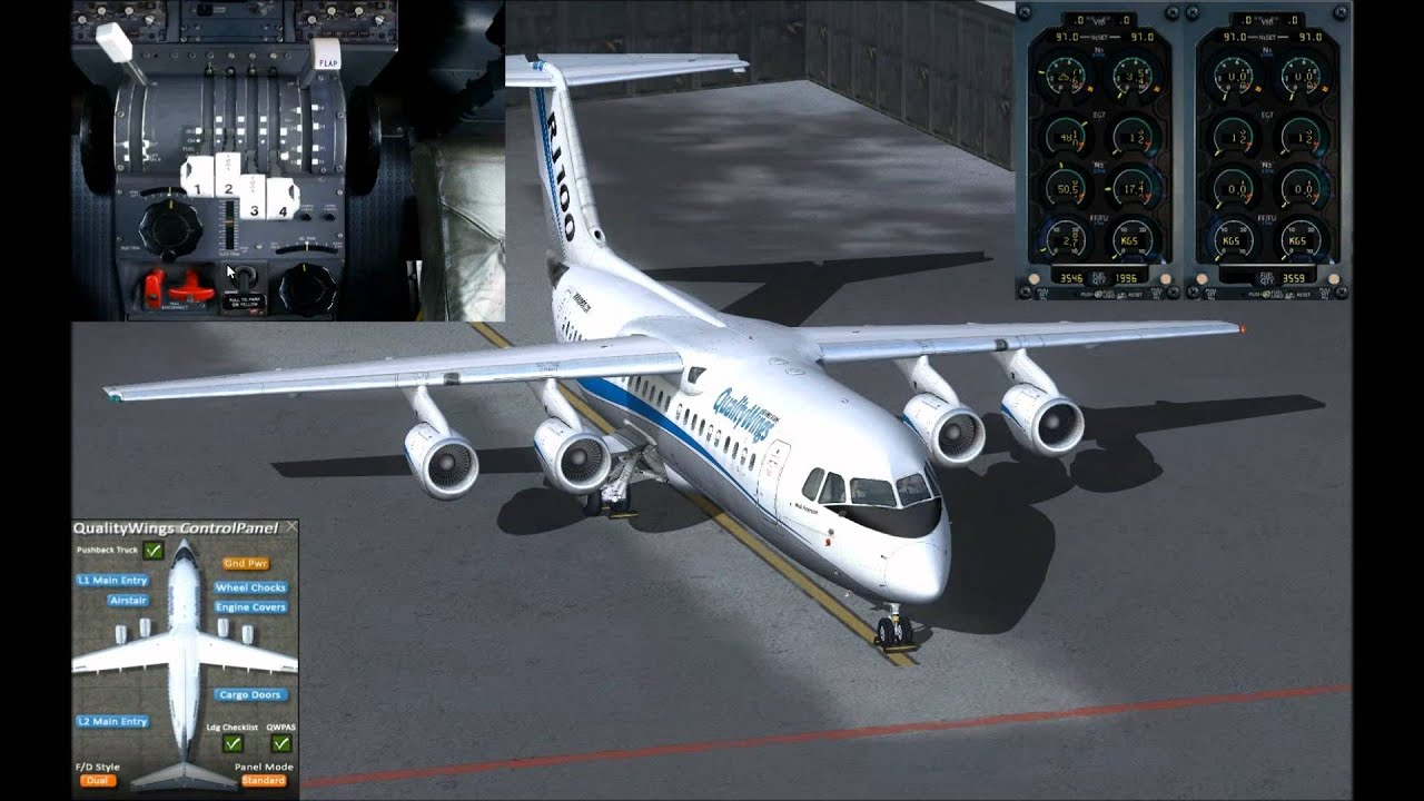 QualityWings Simulations | Ultimate 146 Collection