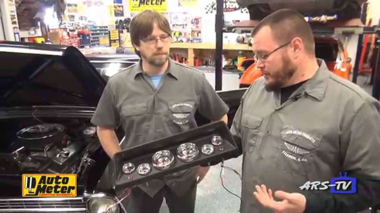 Auto Meter American Muscle Gauge Install On The Ars Tv Nova Youtube Boost Wire Harness