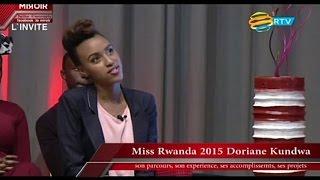 LE MIROIR avec Davy-Carmel S01E01 starring MISS RWANDA 2015 Doriane Kundwa