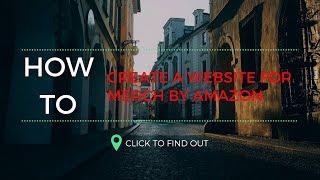 10 Dakika Altında Amazon Gömlek tarafından Merch İçin Bir web Sitesi Oluşturmak İçin nasıl