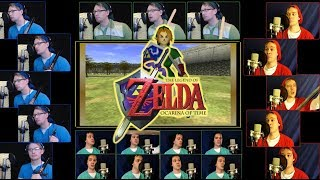 Zelda Ocarina of Time - Hyrule Field Theme Acapella - ft. Jaron Davis & Mr Dooves