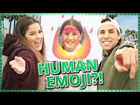 Human Emoji!! | Do It For The Dough w/ Tessa Brooks and Tristan Tales