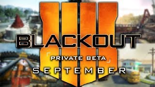 Call of Duty Black Ops 4 Battle Royale: Blackout.