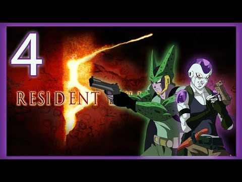 FRIEZA AND CELL PLAY RESIDENT EVIL 5! GOTHAM SPIDER BAT!
