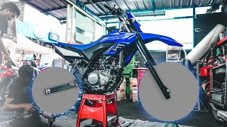 PROJECT WR155 (PART1) | LANGSUNG GANTI WHEELSET SUPERMOTO!😍