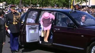 Elizabeth II en France : accueil royal
