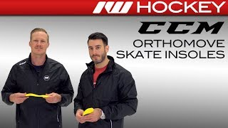 CCM OrthoMove Custom Support Insole Insight