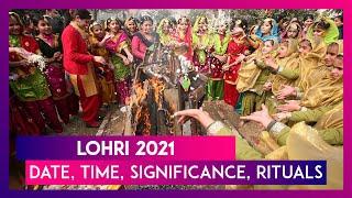 Lohri 2021: Date, Time, Significance, Rituals \u0026 How To Celebrate The Harvest Festival