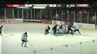 UMass Hockey Highlights From Overtime Thriller Against Northeastern