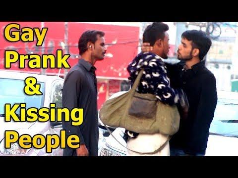 Gay Prank - Kissing People In Pakistan - Shugal Pindi
