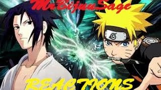 Naruto V.S Sasuke 2 Rap Battle (Reaction)