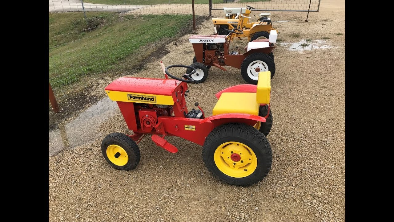30 Vintage Garden Tractors Sell Monday On Southeast Minnesota Online Auction
