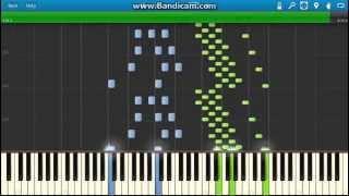 Rossini - The Barber Of Seville: Largo Al Factotum (Figaro) piano (Synthesia)