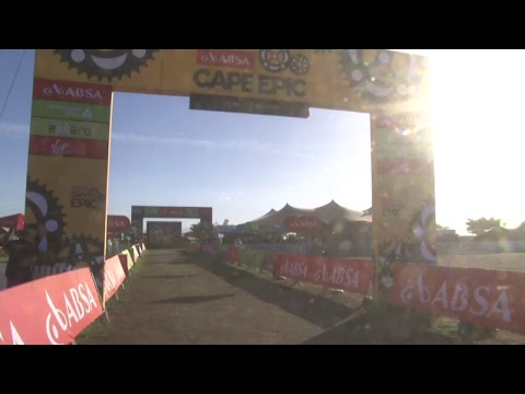 2018 Absa Cape Epic LIVE   STAGE 2   Finish Line