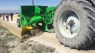 Modern grader Chaptools for reshaping farm roads