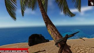 SAIUU!! NOVO JOGO DE MUNDO ABERTO PARA PC - Lost In Ocean