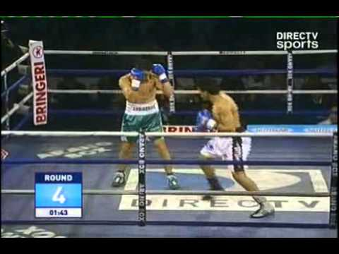 Marcelino LOPEZ vs Sergio GONZALEZ - WBC - Full Fight - Pelea Completa