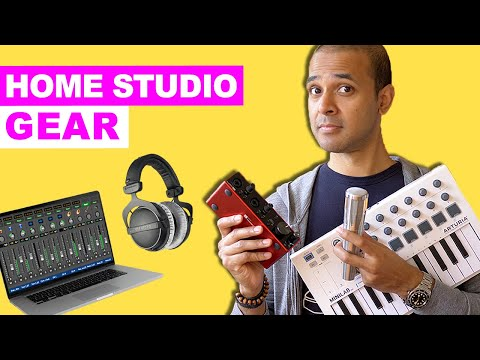 How To Build A Home Studio - What Do You Need?