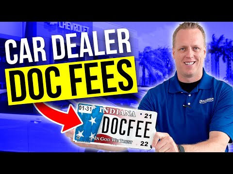 CAR DEALER DOC FEES. Can You Negotiate Them Out? How To Buy A Car.