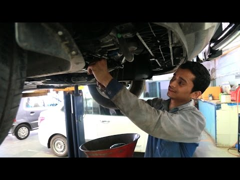 State of the art Automobile Training Center for auto mechanics | Skill India | Deep Motors