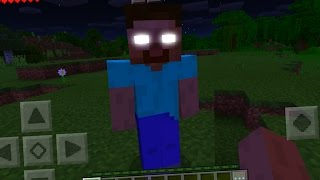 How To Spawn Herobrine in Minecraft Pocket Edition with Command Blocks
