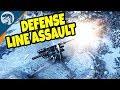 MASSIVE DEFENSE LINE ASSAULTED, TANK SUPPORT | Men of War: Assault Squad 2 MOD Gameplay
