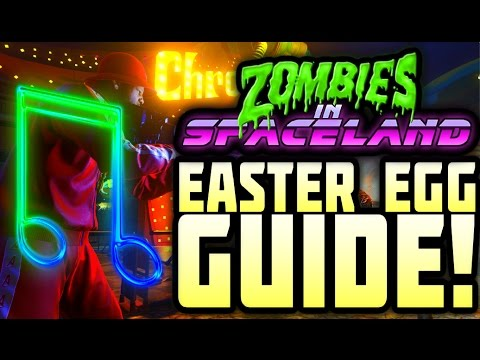 ZOMBIES IN SPACELAND EASTER EGG SONG GUIDETUTORIAL! MUSIC EASTER EGG! Infinite Warfare Zombies