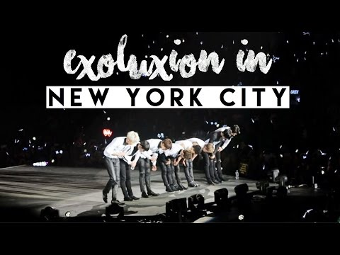 The EXO'luXion in NYC | Vlog